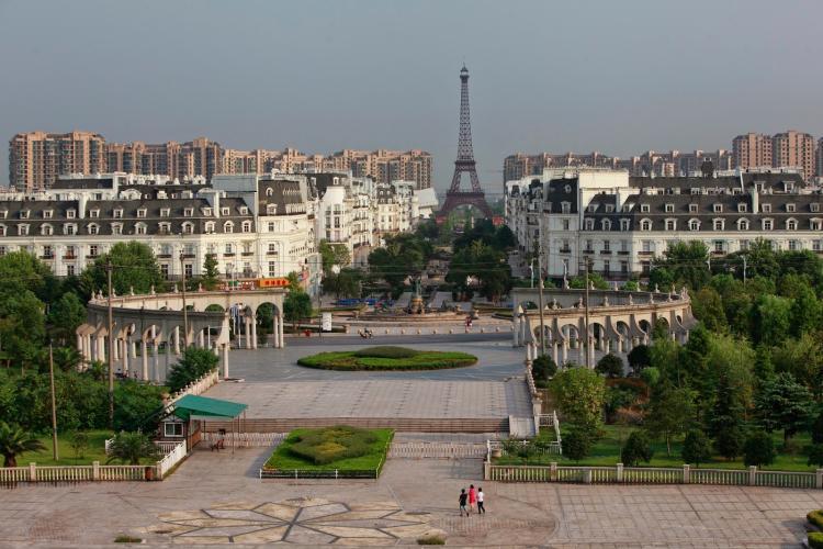 10 китайских подделок известных городов и достопримечательностей