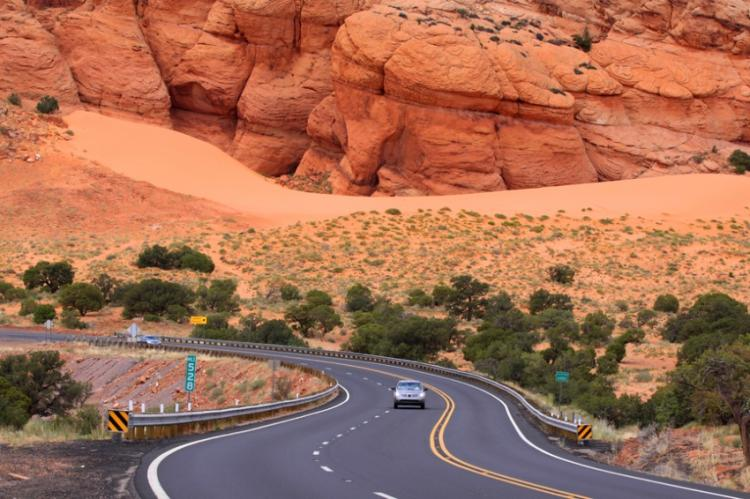 Red Rock Scenic Road, Аризона, США