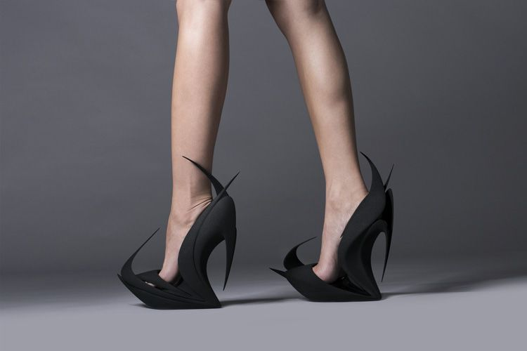 e6dfd1a5f Напечатанные туфли от United Nude в рамках iSaloni 2015 – Журнал ...