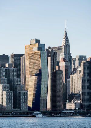«Медные здания» или изогнутые силуэты Нью-Йорка