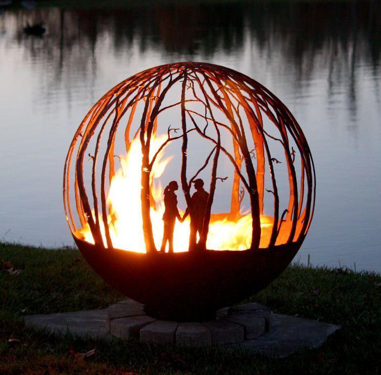 Огненный шар как сделать