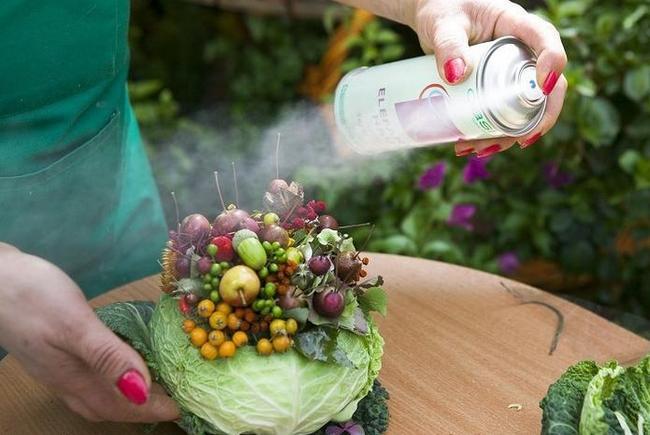 Осенние букеты своими руками из овощей 83