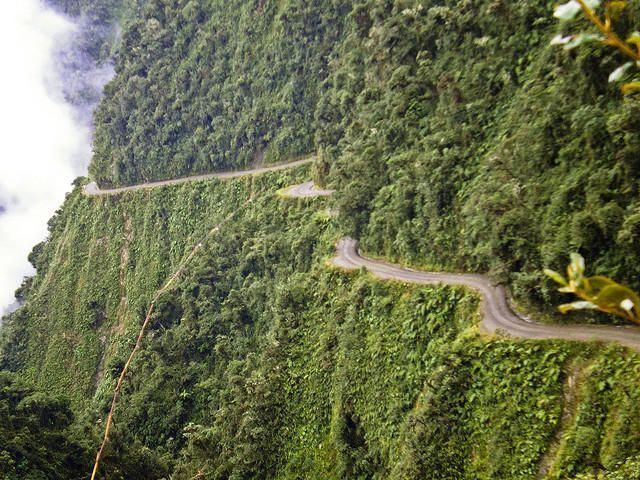 North Yungas Road, Боливия