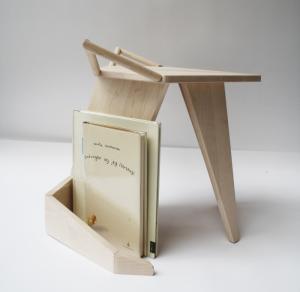 «Табурет-лисенок» от дизайнера Иселин Линдмарк