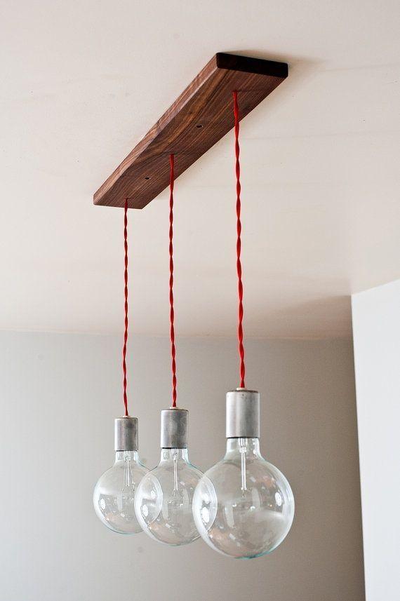 Деревянный светильник на кухню своими руками 88