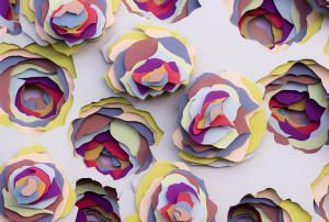 3D шедевры из картона от француженки Мод Вантур