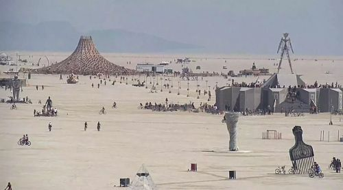 Burning Man 2018. Теперь на диване