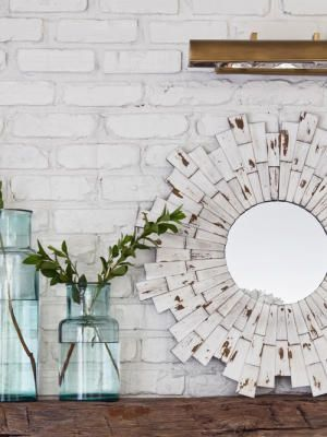 Обрамление для зеркала из подручных материалов: 15 идей