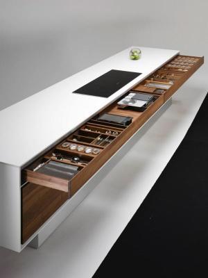 Кухонная столешница. 14 оригинальных рабочих поверхностей, которые сделают любую кухню неповторимой