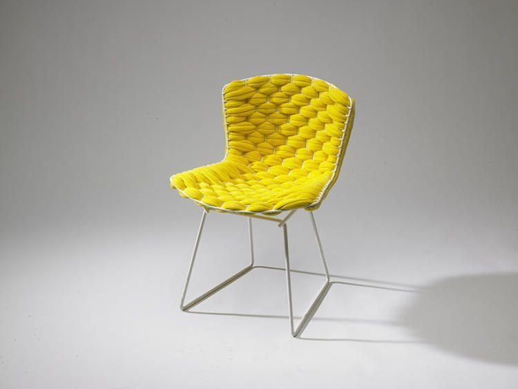 bertoia loom chair