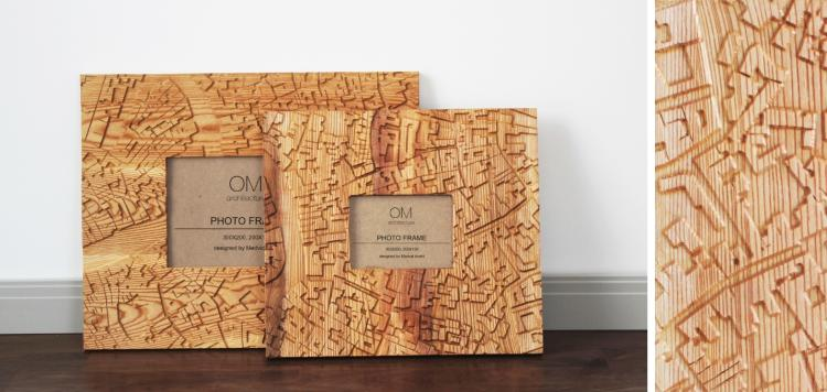 Wood Frame и Wall Décor от OM Architecture