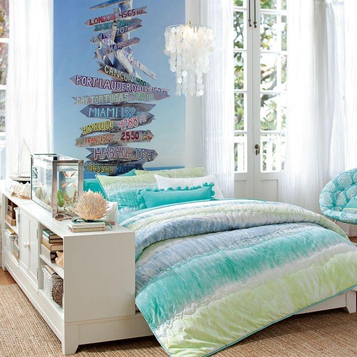 Украсить комнату в морском стиле