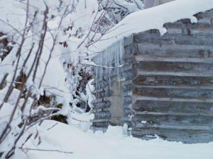 Бетонный дом в Альпах