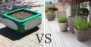 Традиції несмаку, або Навіщо фарбувати бетонні вазони