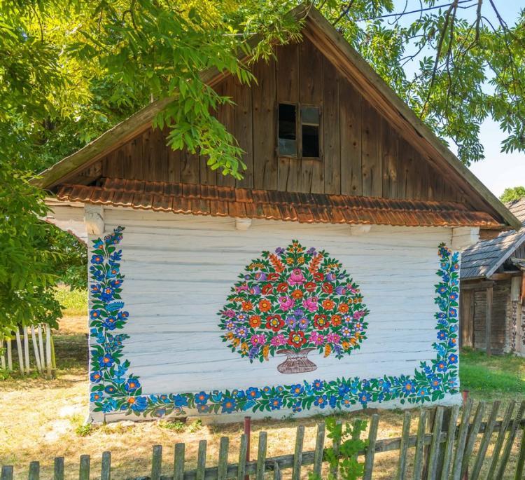 Живописный поселок в Польше