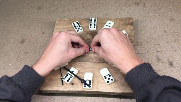 Domino из своими руками 18