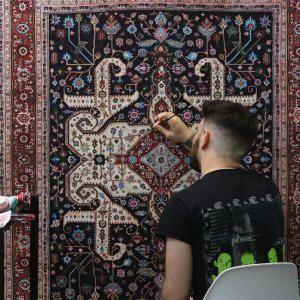 Нарисованные ковры от Джейсона Сейфи